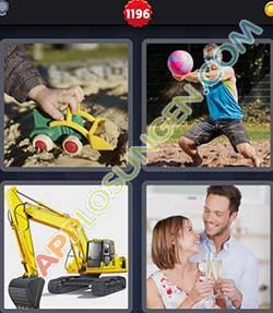 4 bilder 1 wort level 1196 lösung BAGGERN - 4 bilder 1 wort level 1196 lösung BAGGERN