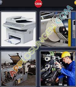 4 bilder 1 wort level 1206 lösung DRUCKER - 4 bilder 1 wort level 1206 lösung DRUCKER