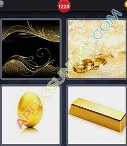 4 bilder 1 wort level 1223 lösung GOLD - 4 bilder 1 wort level 1223 lösung GOLD