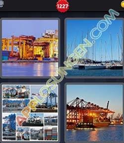 4 bilder 1 wort level 1227 lösung HAFEN - 4 bilder 1 wort level 1227 lösung HAFEN