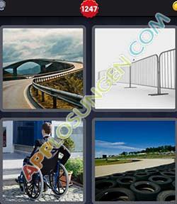 4 bilder 1 wort level 1247 lösung BARRIERE - 4 bilder 1 wort level 1247 lösung BARRIERE