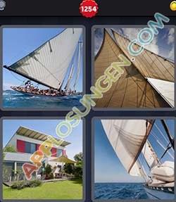4 bilder 1 wort level 1254 lösung SEGEL - 4 bilder 1 wort level 1254 lösung SEGEL