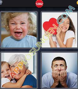 4 bilder 1 wort level 1282 lösung EMOTION - 4 bilder 1 wort level 1282 lösung EMOTION