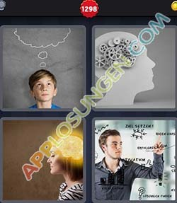 4 bilder 1 wort level 1298 lösung GEDANKEN - 4 bilder 1 wort level 1298 lösung GEDANKEN