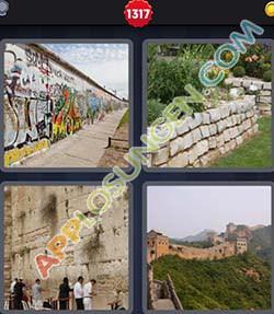 4 bilder 1 wort level 1317 lösung MAUER - 4 bilder 1 wort level 1317 lösung MAUER