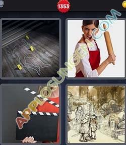 4 bilder 1 wort level 1353 lösung SZENE - 4 bilder 1 wort level 1353 lösung SZENE