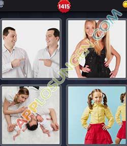4 bilder 1 wort level 1415 lösung ZWILLING - 4 bilder 1 wort level 1415 lösung ZWILLING