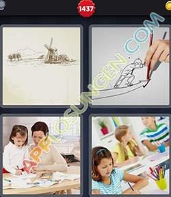 4 bilder 1 wort level 1437 lösung ZEICHNEN - 4 bilder 1 wort level 1437 lösung ZEICHNEN