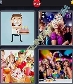 4 bilder 1 wort level 1492 lösung FEIERN - 4 bilder 1 wort level 1492 lösung FEIERN