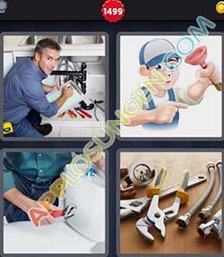 4 bilder 1 wort level 1499 lösung KLEMPNER - 4 bilder 1 wort level 1499 lösung KLEMPNER