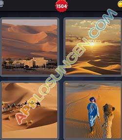 4 bilder 1 wort level 1504 lösung SAHARA - 4 bilder 1 wort level 1504 lösung SAHARA