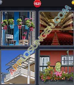4 bilder 1 wort level 1521 lösung BALKON - 4 bilder 1 wort level 1521 lösung BALKON