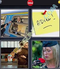 4 bilder 1 wort level 1554 lösung ABSCHIED - 4 bilder 1 wort level 1554 lösung ABSCHIED