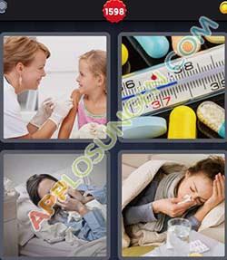 4 bilder 1 wort level 1598 lösung GRIPPE - 4 bilder 1 wort level 1598 lösung GRIPPE