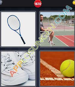 4 bilder 1 wort level 1610 lösung TENNIS - 4 bilder 1 wort level 1610 lösung TENNIS