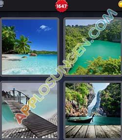4 bilder 1 wort level 1647 lösung LAGUNE - 4 bilder 1 wort level 1647 lösung LAGUNE