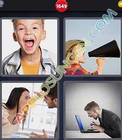 4 bilder 1 wort level 1649 lösung SCHREIEN - 4 bilder 1 wort level 1649 lösung SCHREIEN