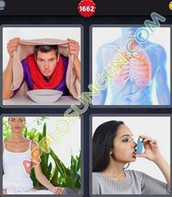4 bilder 1 wort level 1662 lösung EINATMEN - 4 bilder 1 wort level 1662 lösung EINATMEN