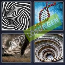 4 bilder 1 wort level 168 lösung SPIRALE - 4 bilder 1 wort level 168 lösung SPIRALE