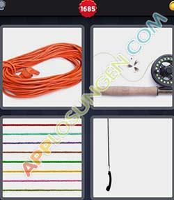 4 bilder 1 wort level 1685 lösung SCHNUR - 4 bilder 1 wort level 1685 lösung SCHNUR