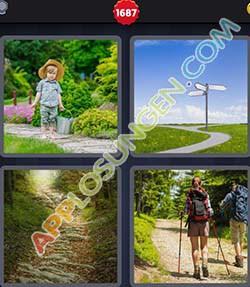 4 bilder 1 wort level 1687 lösung PFAD - 4 bilder 1 wort level 1687 lösung PFAD