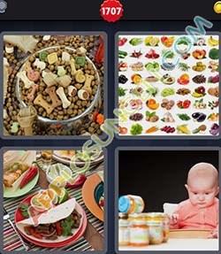 4 bilder 1 wort level 1707 lösung NAHRUNG - 4 bilder 1 wort level 1707 lösung NAHRUNG