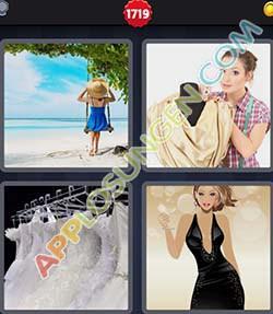 4 bilder 1 wort level 1719 lösung KLEID - 4 bilder 1 wort level 1719 lösung KLEID