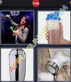 4 bilder 1 wort level 1736 lösung SHAKER - 4 bilder 1 wort level 1736 lösung SHAKER