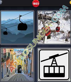 4 bilder 1 wort level 1803 lösung SEILBAHN - 4 bilder 1 wort level 1803 lösung SEILBAHN