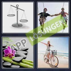 4 bilder 1 wort level 182 lösung balance | bilder und sprüche für whatsapp und facebook kostenlos