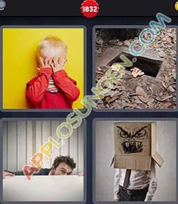 4 bilder 1 wort level 1832 lösung VERSTECK - 4 bilder 1 wort level 1832 lösung VERSTECK