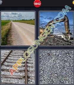4 bilder 1 wort level 1842 lösung SCHOTTER - 4 bilder 1 wort level 1842 lösung SCHOTTER