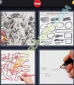 4 bilder 1 wort level 1959 lösung KRITZELN - 4 bilder 1 wort level 1959 lösung KRITZELN