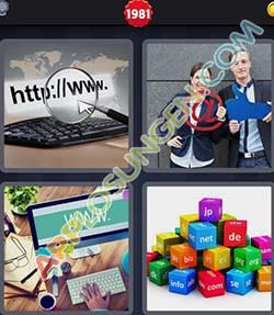 4 bilder 1 wort level 1981 lösung INTERNET - 4 bilder 1 wort level 1981 lösung INTERNET