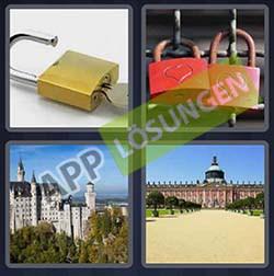 4 bilder 1 wort level 203 lösung SCHLOSS - 4 bilder 1 wort level 203 lösung SCHLOSS