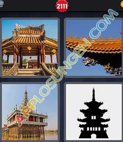 4 bilder 1 wort level 2111 lösung PAGODE - 4 bilder 1 wort level 2111 lösung PAGODE