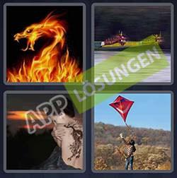 4 bilder 1 wort level 216 lösung DRACHEN - 4 bilder 1 wort level 216 lösung DRACHEN