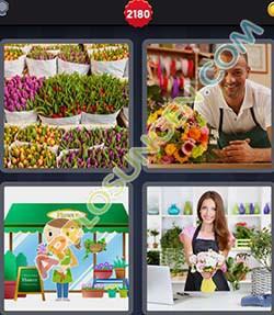 4 bilder 1 wort level 2180 lösung FLORIST - 4 bilder 1 wort level 2180 lösung FLORIST
