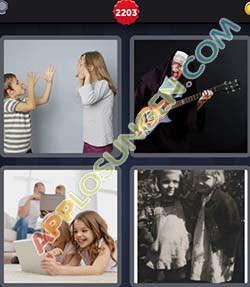 4 bilder 1 wort level 2203 lösung SCHWESTER - 4 bilder 1 wort level 2203 lösung SCHWESTER