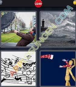 4 bilder 1 wort level 2249 lösung STURMISCH - 4 bilder 1 wort level 2249 lösung STURMISCH