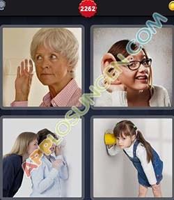 4 bilder 1 wort level 2262 lösung LAUSCHEN - 4 bilder 1 wort level 2262 lösung LAUSCHEN