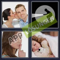 4 bilder 1 wort level 296 lösung LEISE - 4 bilder 1 wort level 296 lösung LEISE