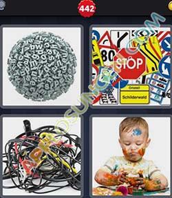 4 bilder 1 wort level 442 lösung CHAOS - 4 bilder 1 wort level 442 lösung CHAOS