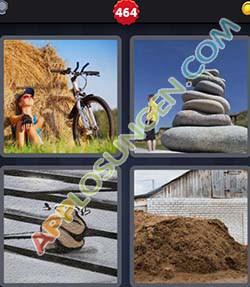 4 bilder 1 wort level 464 lösung HAUFEN - 4 bilder 1 wort level 464 lösung HAUFEN