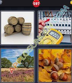 4 bilder 1 wort level 597 lösung EICHEL - 4 bilder 1 wort level 597 lösung EICHEL