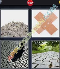 4 bilder 1 wort level 692 lösung PFLASTER - 4 bilder 1 wort level 692 lösung PFLASTER