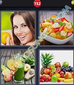 4 bilder 1 wort level 732 lösung OBST - 4 bilder 1 wort level 732 lösung OBST
