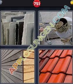 4 bilder 1 wort level 751 lösung BAUSTOFF - 4 bilder 1 wort level 751 lösung BAUSTOFF