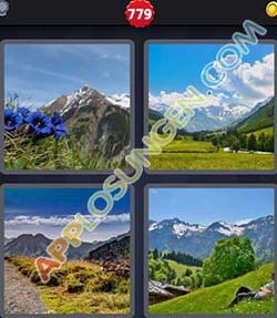 4 bilder 1 wort level 779 lösung GEBIRGE - 4 bilder 1 wort level 779 lösung GEBIRGE