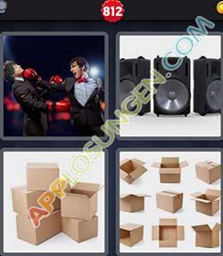 4 bilder 1 wort level 812 lösung BOXEN - 4 bilder 1 wort level 812 lösung BOXEN